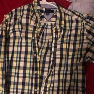 Tommy Hilfiger plaid shirt size M